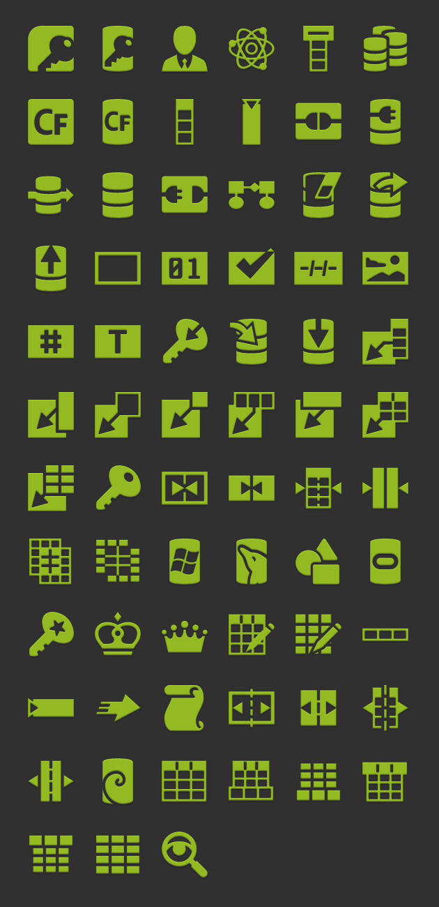 android icons database launcher  hdpi