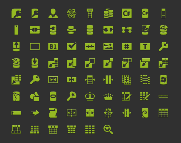 android icons database launcher ldpi
