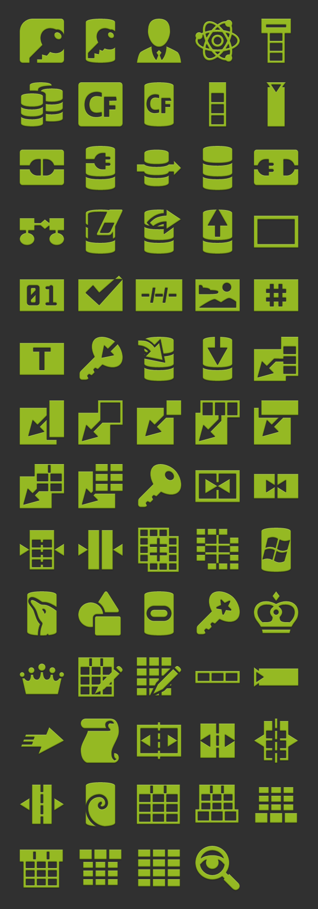 android icons database launcher  xhdpi