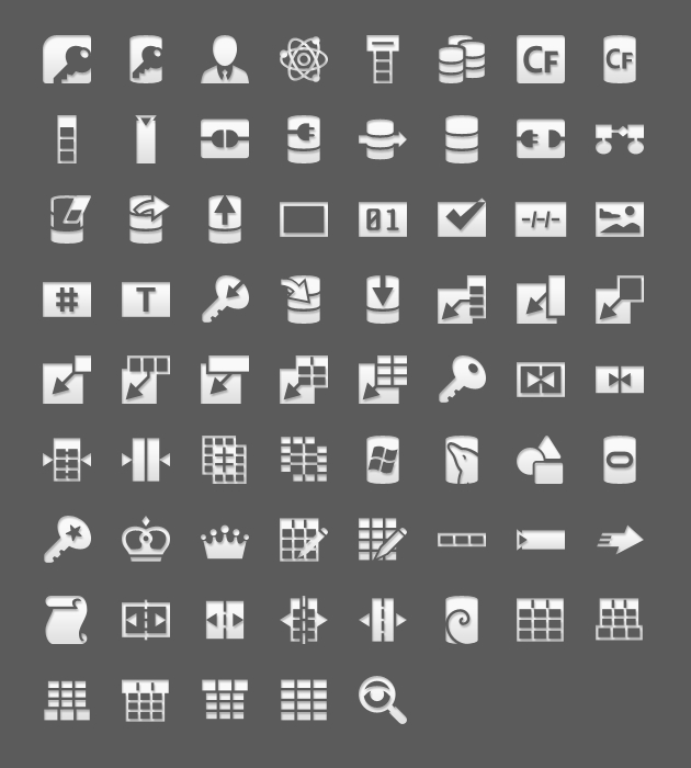 android icons database list hdpi