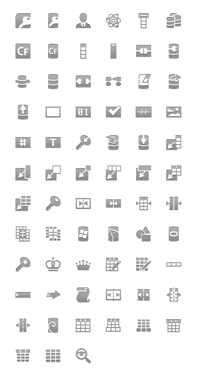 android icons database menu hdpi