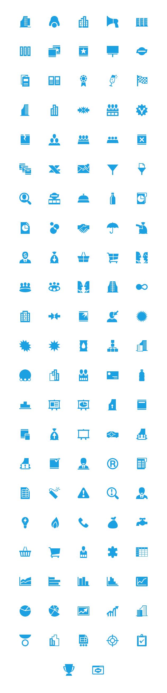 windows8 blue business 48px