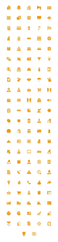 windows8 orange business 48px