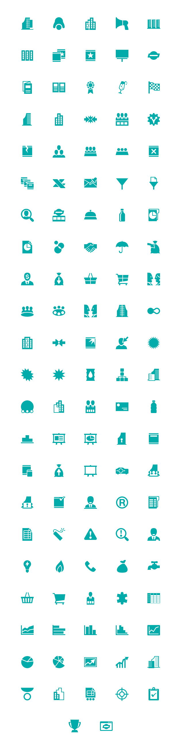 windows8 teal business 48px