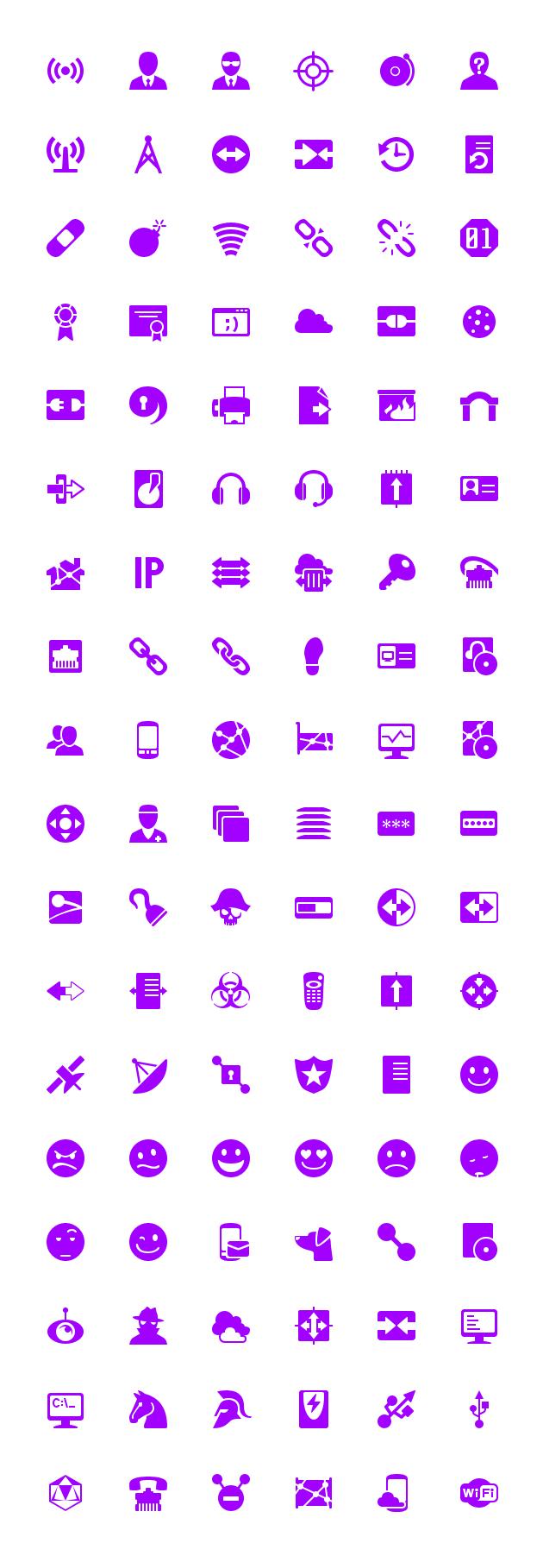 windows 8 purple networking 48px