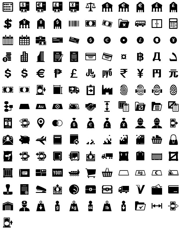 iphone icons accounting 40px
