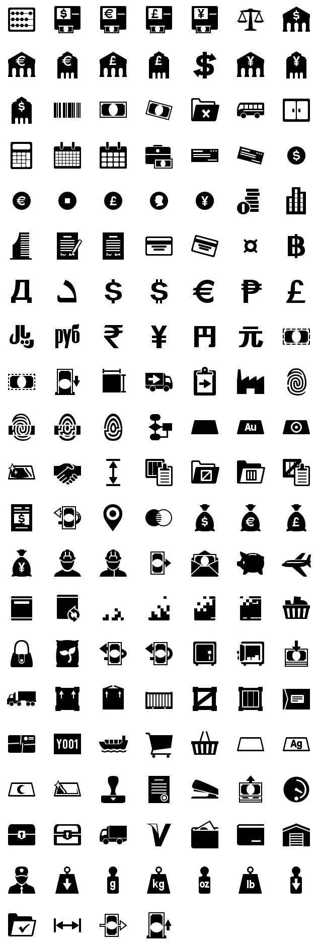iphone icons accounting 60px