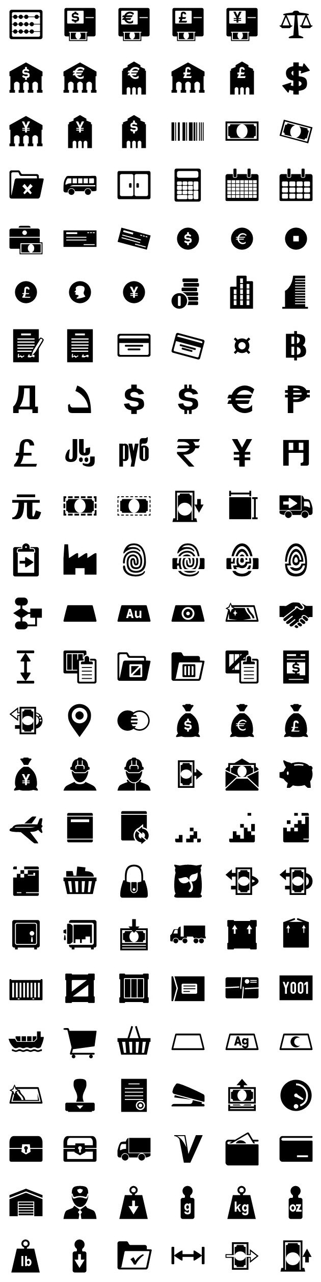 iphone icons accounting 72px