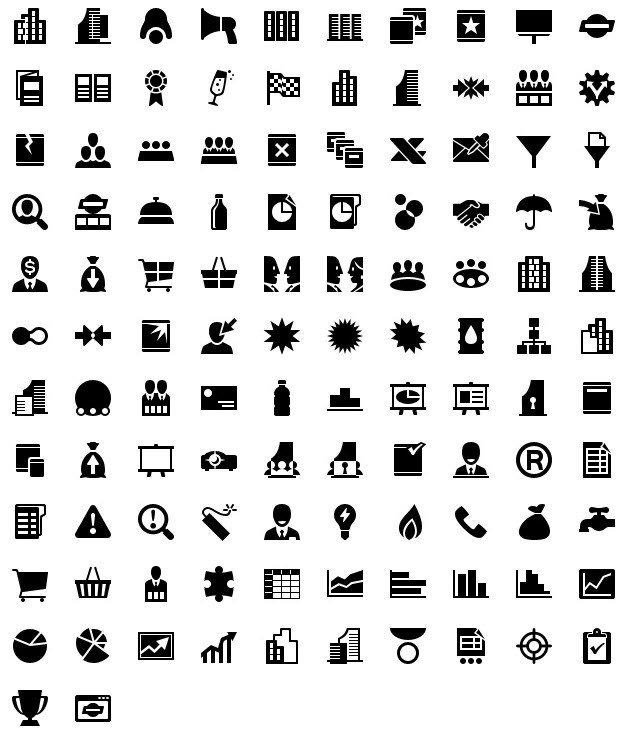 iphone icons business 40px