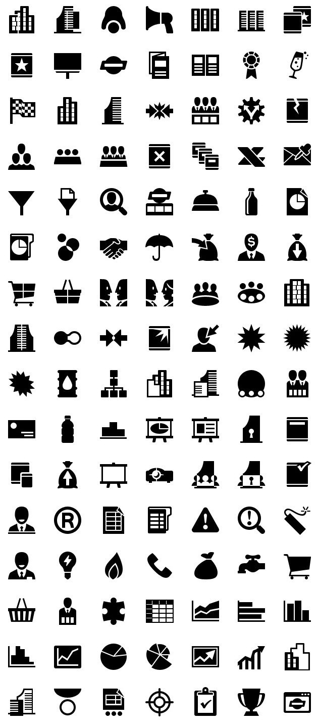 iphone icons business 60px