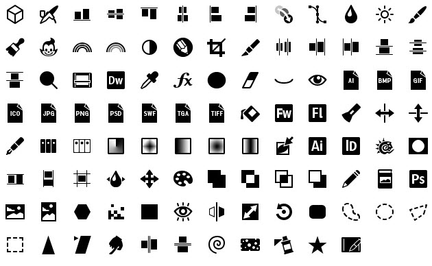 iphone icons graphics 30px