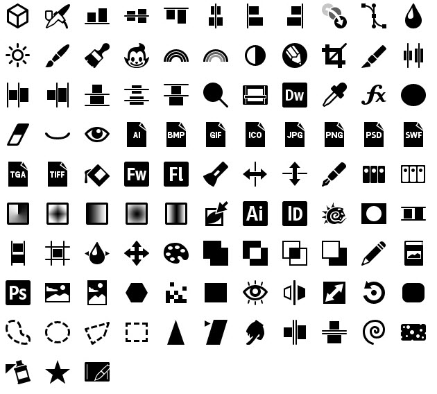 iphone icons graphics 40px