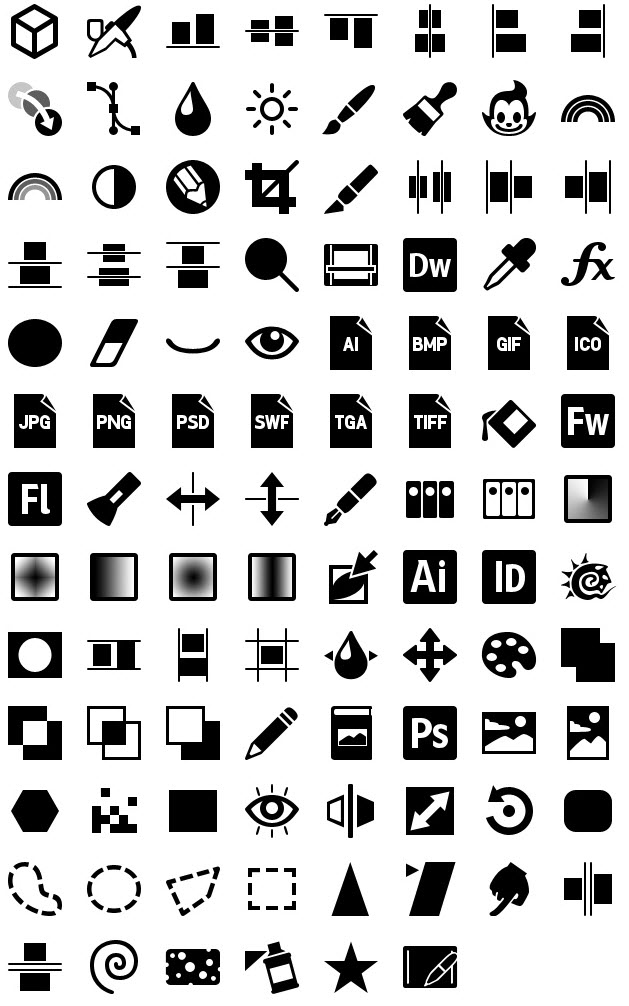 iphone icons graphics 60px