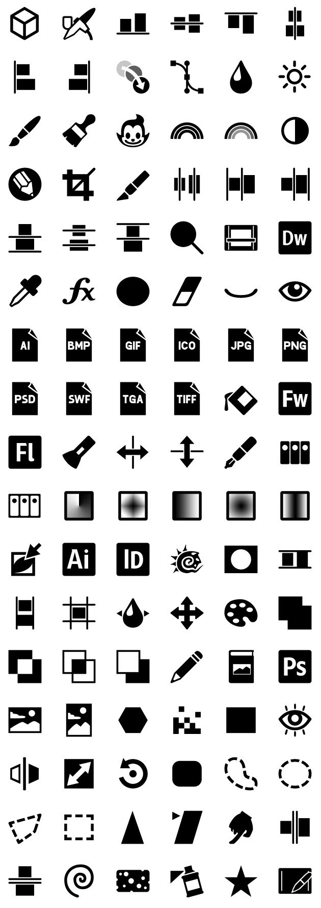 iphone icons graphics 72px
