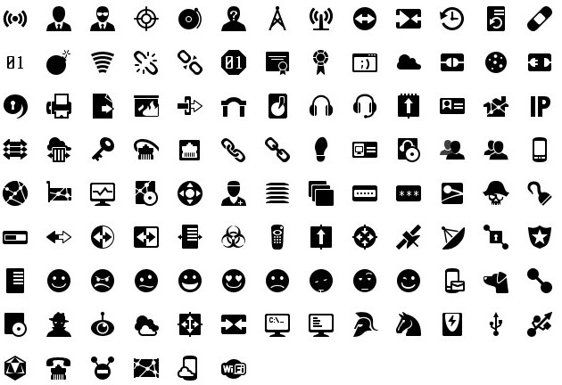 iphone icons networking 30px