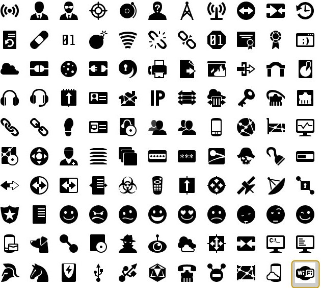iphone icons networking 40px