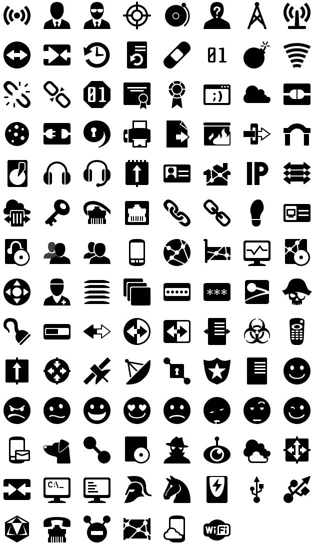 iphone icons networking 60px