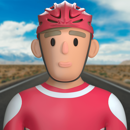 cyclist-rider-competitor-bicyclist-cycler-background_icon