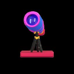 telescope-prospect_glass-spyglass-optical_instrument_icon