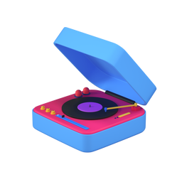music_disc_machine-turntable-record_player-perspective_icon