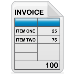 Invoices Icons Iconshock