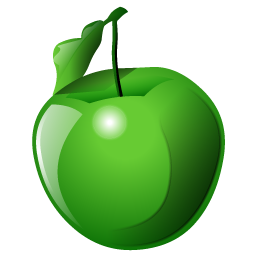 green_apple_icon