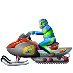 snowmobile_racing_icon