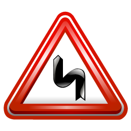 double_curve_sign_icon