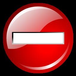 no_entry_sign_icon