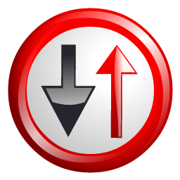 oncoming_vehicles_sign_icon