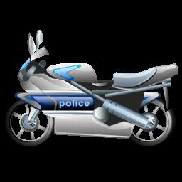 police_bike_icon