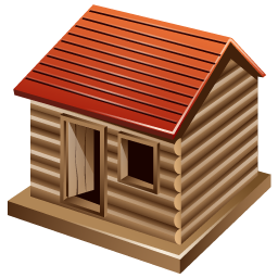log_cabin_icon
