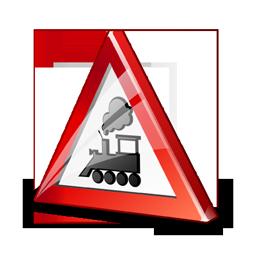 sign_railroad_crossing_icon