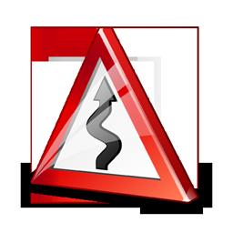 sign_zigzag_road_icon