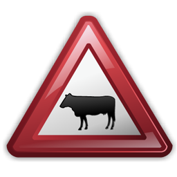 cattle_crossing_sign_icon