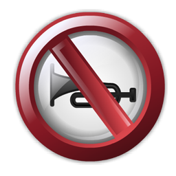 no_horn_sign_icon