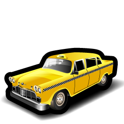 american_taxi_icon