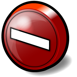 no_entry_sign_icon