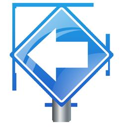 detour_left_sign_icon