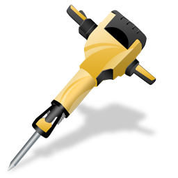 gas_powered_drill_icon