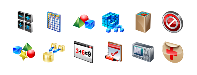 Professional icons - All our icon sets