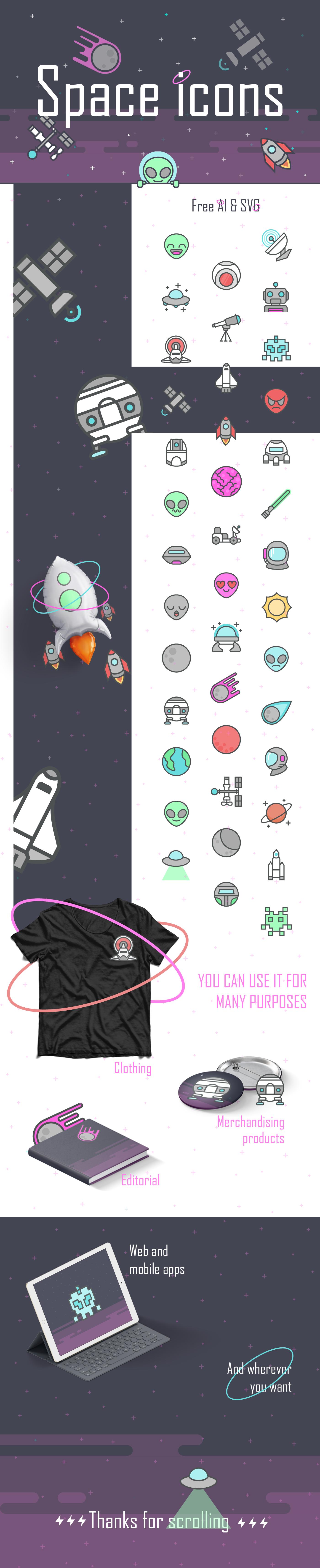 space_free_icon_set