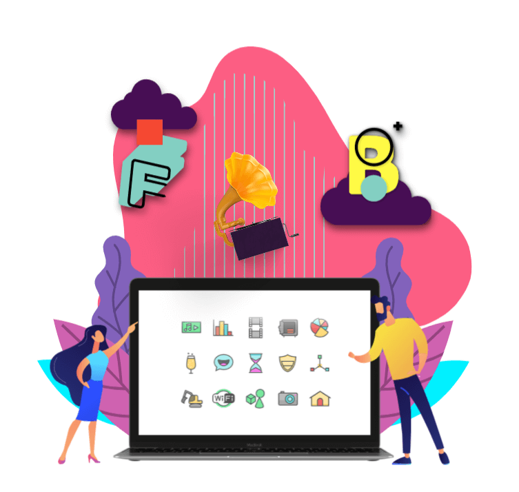 pendrive 3d icon layer