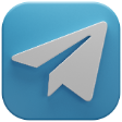 telegram 3d icon
