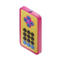 TV control 3d icon small