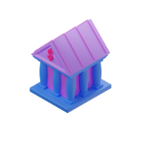 bank 3d icon small