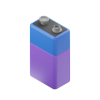 battery 3d icon small
