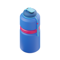bottle of water 3d icon small