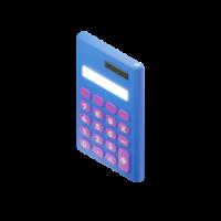 calculator 3d icon mall