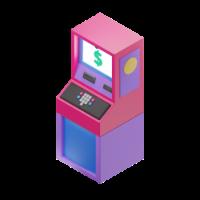 cash machine 3d icon small